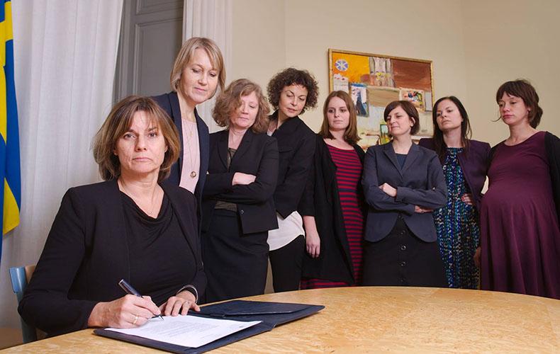Kvinnor på Utrikesdepartementet