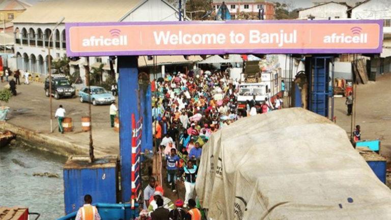 Bild från Banjul
