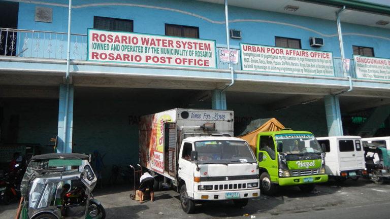 Offentliga kontor i Rosario i Filippinerna.