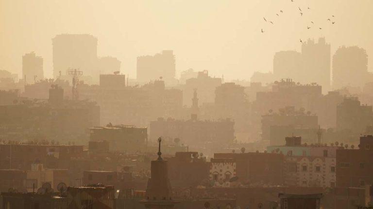 Smog i Kairo.