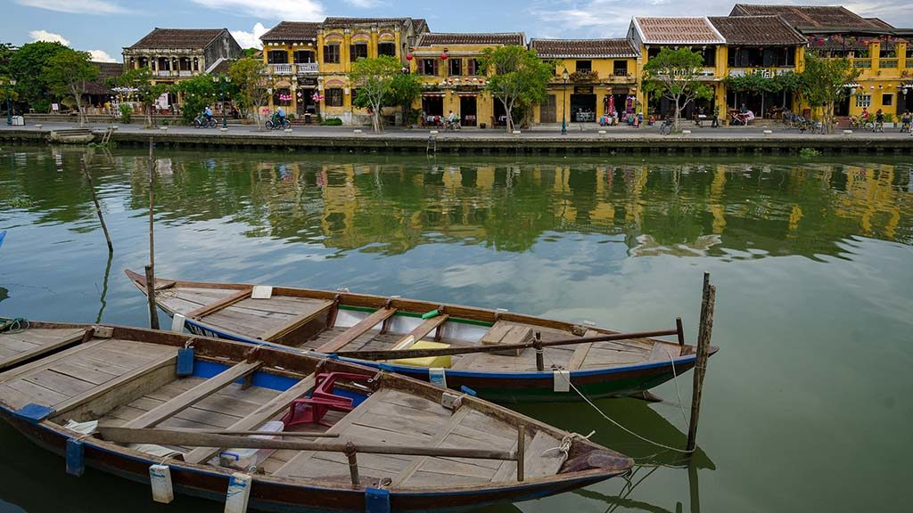 Den gamla staden i Hoi An, Vietnam