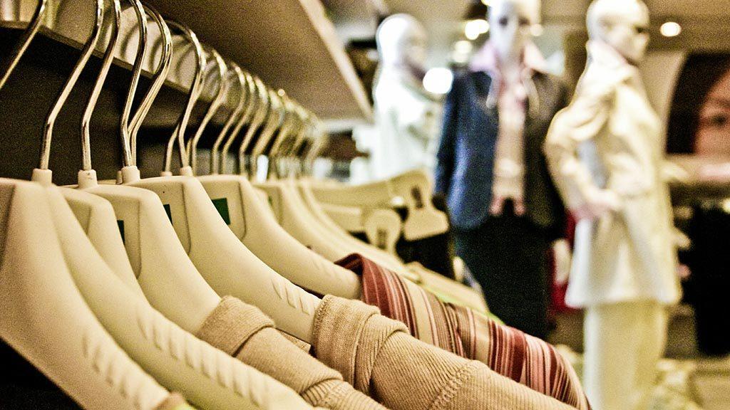 Kläder i butik