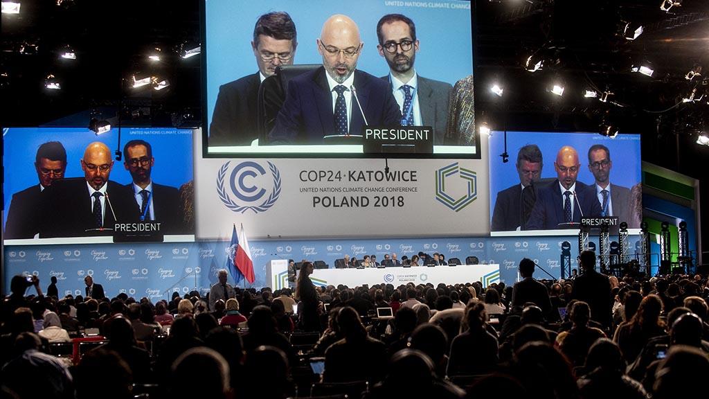 Klimattoppmötet i Katowice, Polen