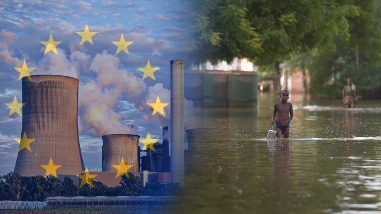 Kolkraftverk i Tyskland och översvämning i Somalia.
