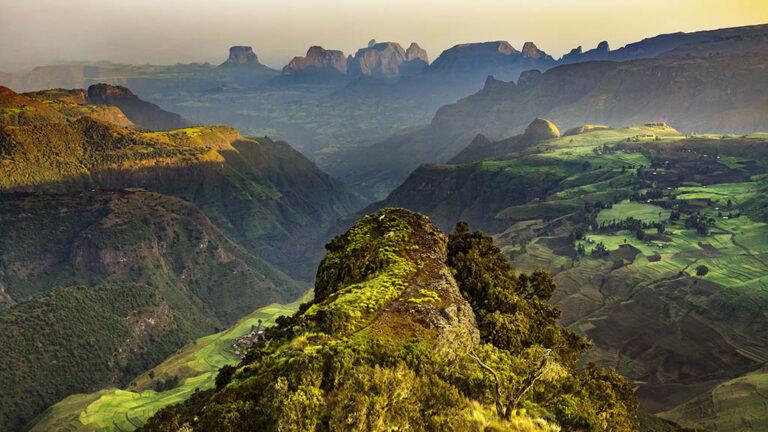 Landskap i Etiopien