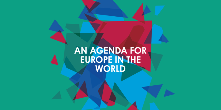 EU, an agenda for Europe in the world