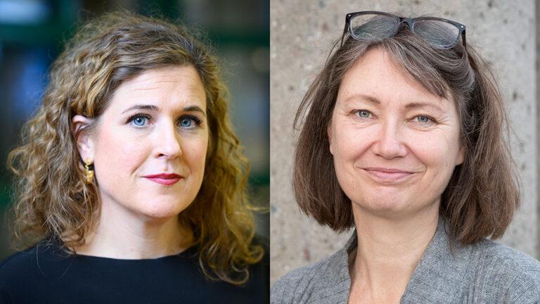 Eva Ekelund och Gunilla Axelsson Nycander