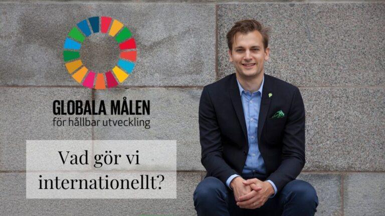 agenda2030 agenda 2030 globala målen per Olsson Frid