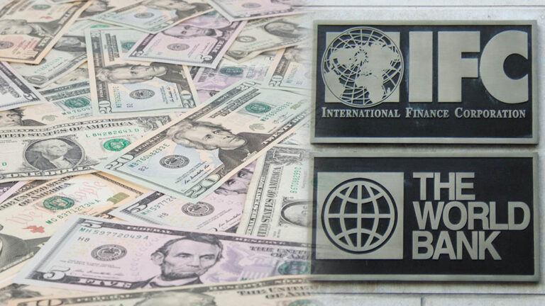 Pengar från investeringsbanker
